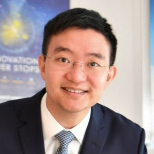 Taylor Lam speaking at Telecoms World Asia