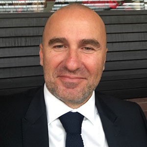 Feda Hadzic speaking at Telecoms World Middle East