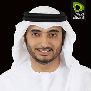 Hatem Bamatraf speaking at Telecoms World Middle East
