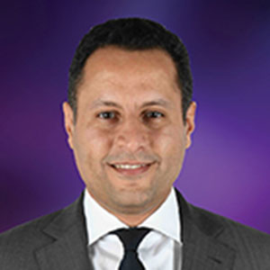 Kamil Hilali speaking at Telecoms World Middle East