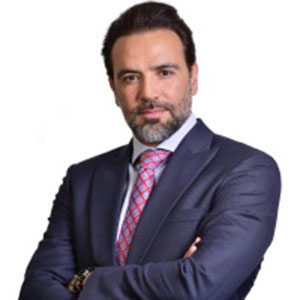Karim Tabbouhce speaking at Telecoms World Middle East