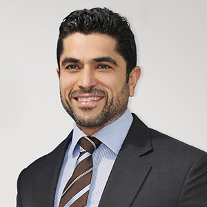 Maaz Sheikh speaking at Telecoms World Middle East