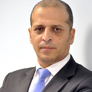 Dr. Naser Refaat speaking at Telecoms World Middle East
