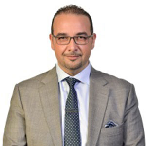 Saad Odeh speaking at Telecoms World Middle East