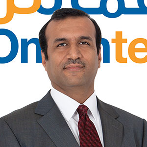 Sohail Qadir speaking at Telecoms World Middle East