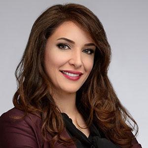 Zahra Zayat speaking at Telecoms World Middle East