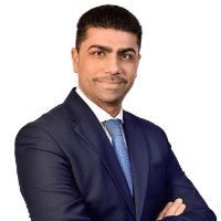 Andrew Hanna speaking at Telecoms World Middle East