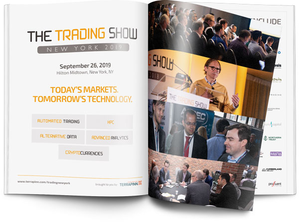 Trading Show New York brochure