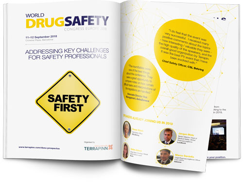 World Drug Safety Congress Europe 2018 sponsorship brochure