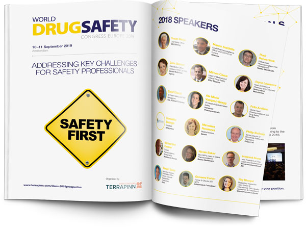 World Drug Safety Congress Europe 2019 sponsorship brochure