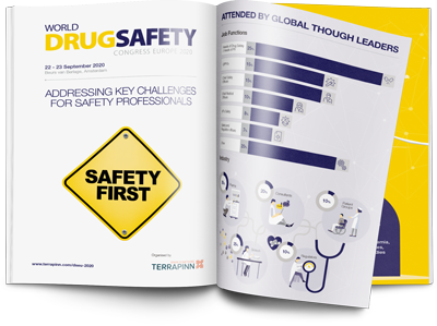 World Drug Safety Congress Europe 2020 sponsorship brochure