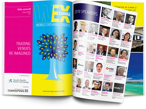 Download the World Exchange Congress 2020 brochure