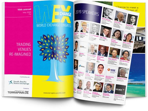 Download the World Exchange Congress 2020 brochure