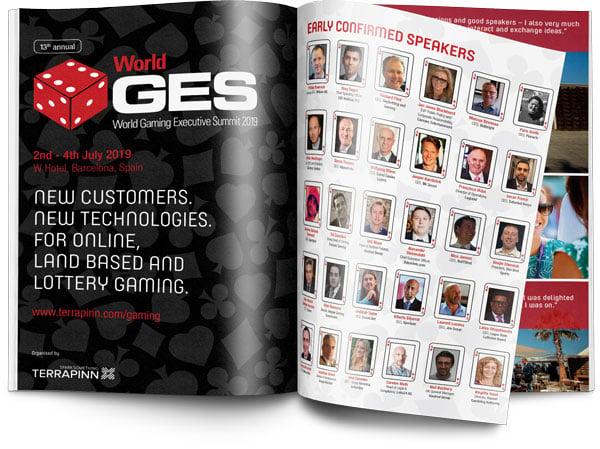 WGES 2019 sponsorship brochure