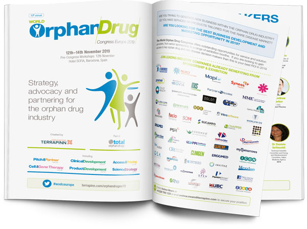 World Orphan Drug Congress 2019 sponsorship prospectus