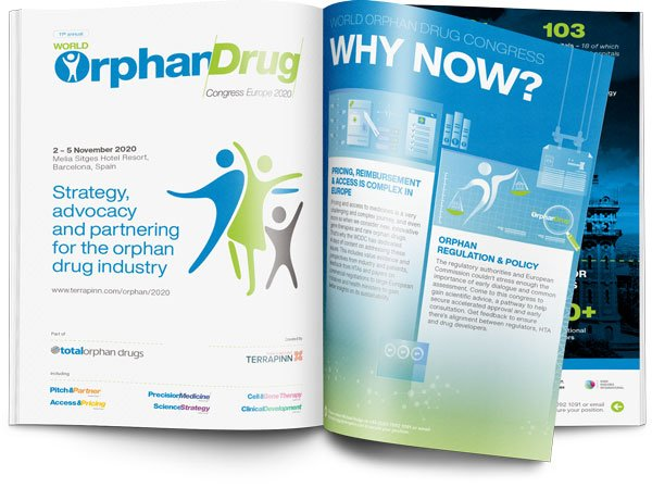 World Orphan Drug Congress sponsorship prospectus