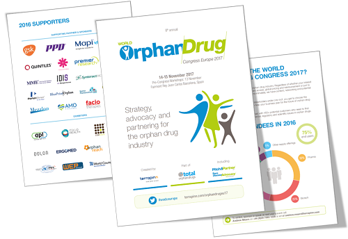 World Orphan Drug Congress 2017  sponsorship prospectus