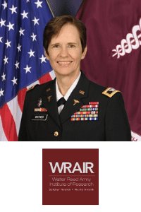 Col Deborah Whitmer speaking at World Vaccine Congress Washington