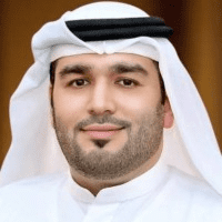 Mahmoud Hesham Al Burai speaking at Middle East Smart Mobility