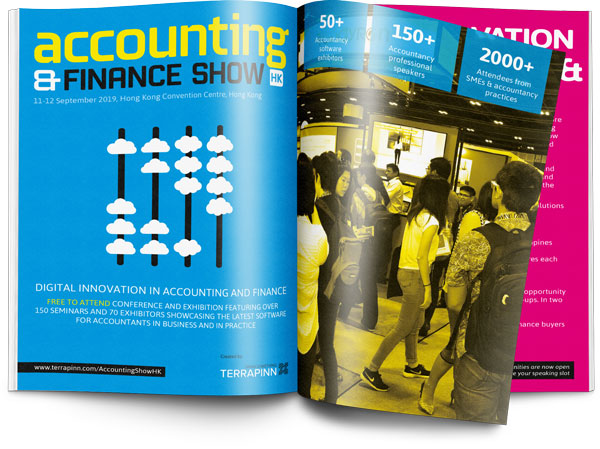 The Accounting & Finance Show HK 2019 sponsorship brochure