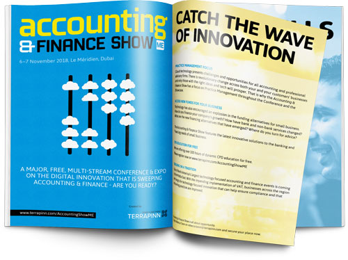 The Accounting & Finance Show 2018 sponsorship brochure