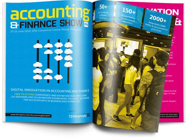 The Accounting & Finance Show PH 2019 sponsorship brochure