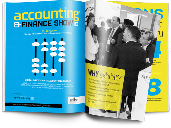 The Accounting & Finance Show SA 2020 sponsorship brochure