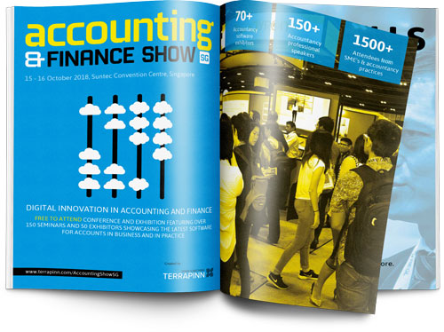 The Accounting & Finance Show Asia 2019 sponsorship brochure