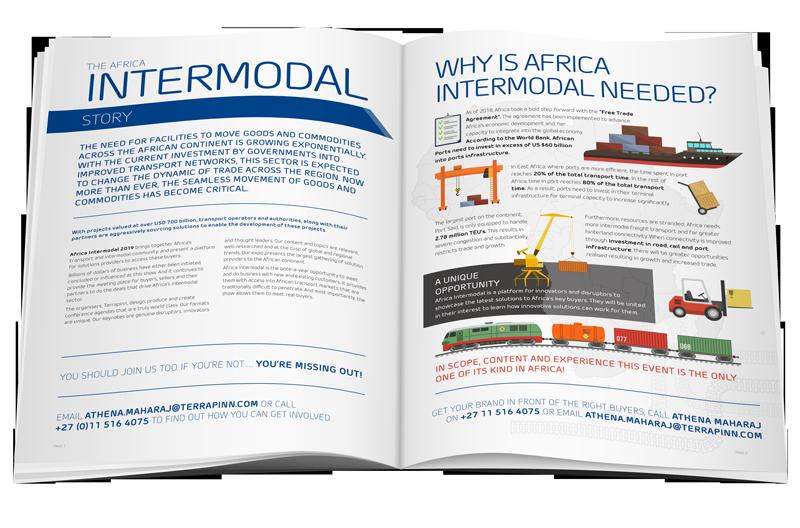 Intermodal Africa Exhibitor brochure