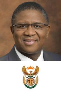 Hon Minister Fikile Mbalula at Africa Rail