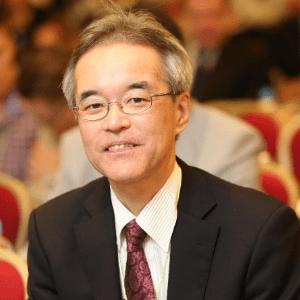 Naoto Kimura speaking at Asia Pacific Rail