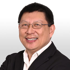 Samuel Chan speaking at Asia Pacific Rail