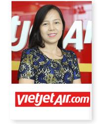 Nguyen Thi Thuy Binh at Aviation Festival Asia 2018