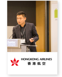 Pacino Qin at Aviation Festival Asia 2018