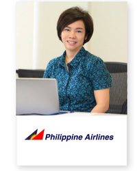 Maria Antonia H. Llamzon at Aviation Festival Asia 2018