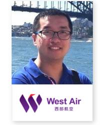 Teng Yang at Aviation Festival Asia 2018