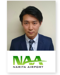 Tomoya Miyauchi at Aviation Festival Asia 2018