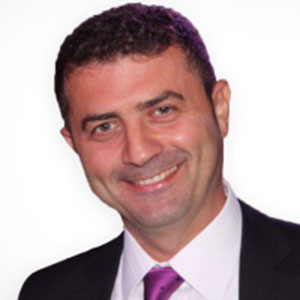 Aref Boualwan speaking at BuildIT Middle East