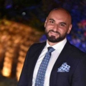 Mohamad Nasser speaking at BuildIT Middle East
