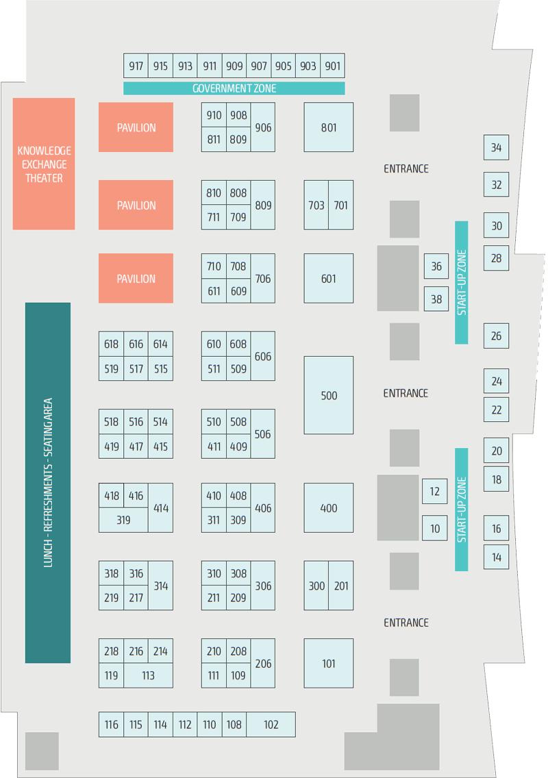 Connect:ID 2019 floor plan
