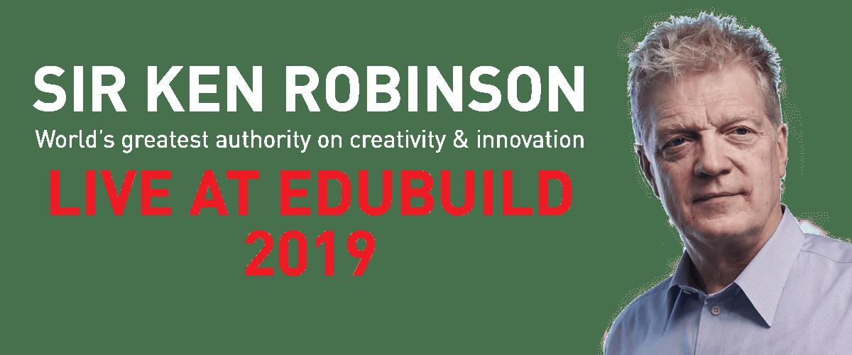 Sir Ken Robinson Coming to EduBUILD 2019