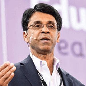 Prakesh Nair speaking at Edutech