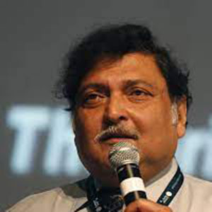 Prof Sugata Mitra speaking at Edutech
