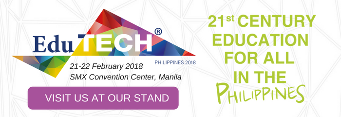 Event banner for sponsors and exhibitor at EduTECH Philippines 2018
