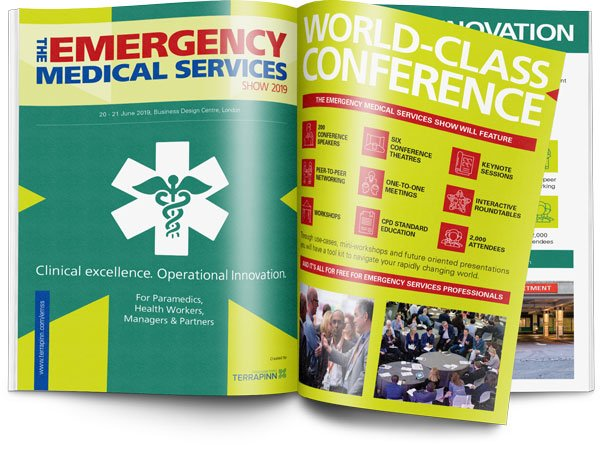 The Emergency Medical Services Show 2019 sponsorship brochure