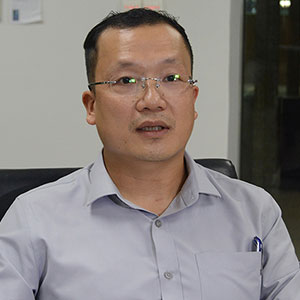 Nguyen Duc Ninh speaking at Future Energy Show Vietnam