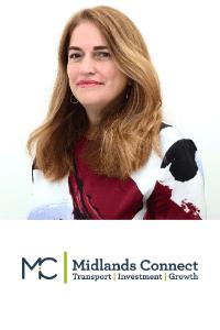Maria Machancoses speaking at Highways UK
