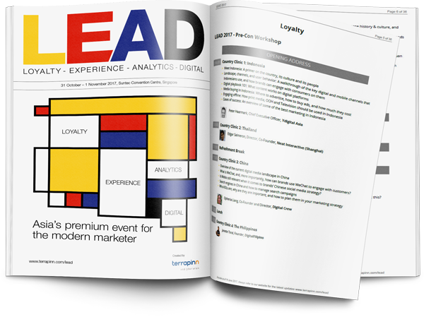 Download the LEAD latest agenda