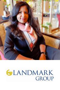 Namrata Balwani speaking at the Marketing & Sales Show Middle East