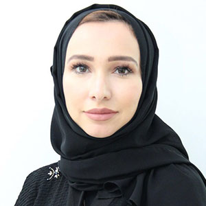 Ranya Yahya speaking at Marketing & Sales Show Middle East
